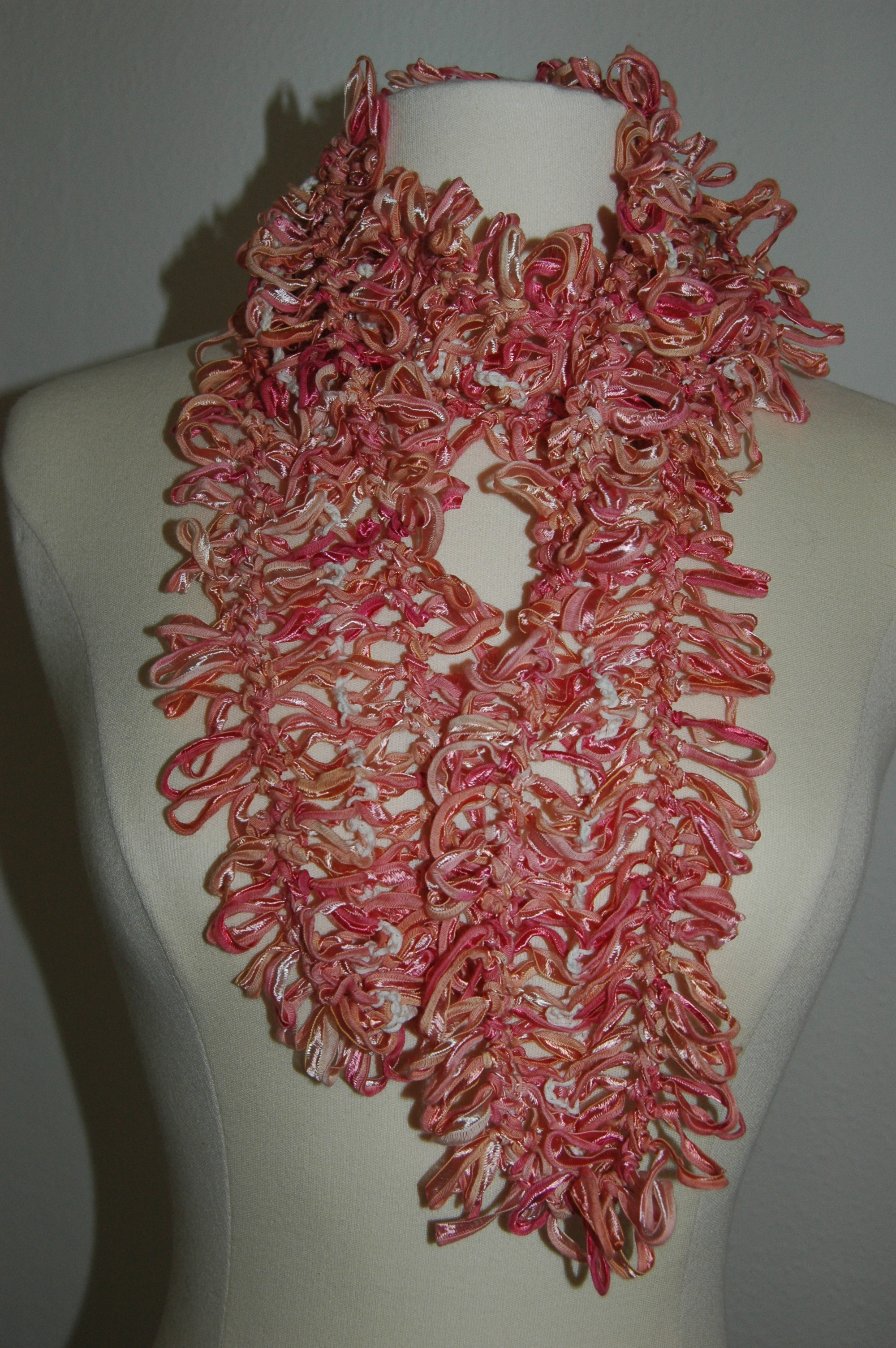 Beginner Crochet Patterns Crochet Lace Shell Scarf Crochet Scarf ...