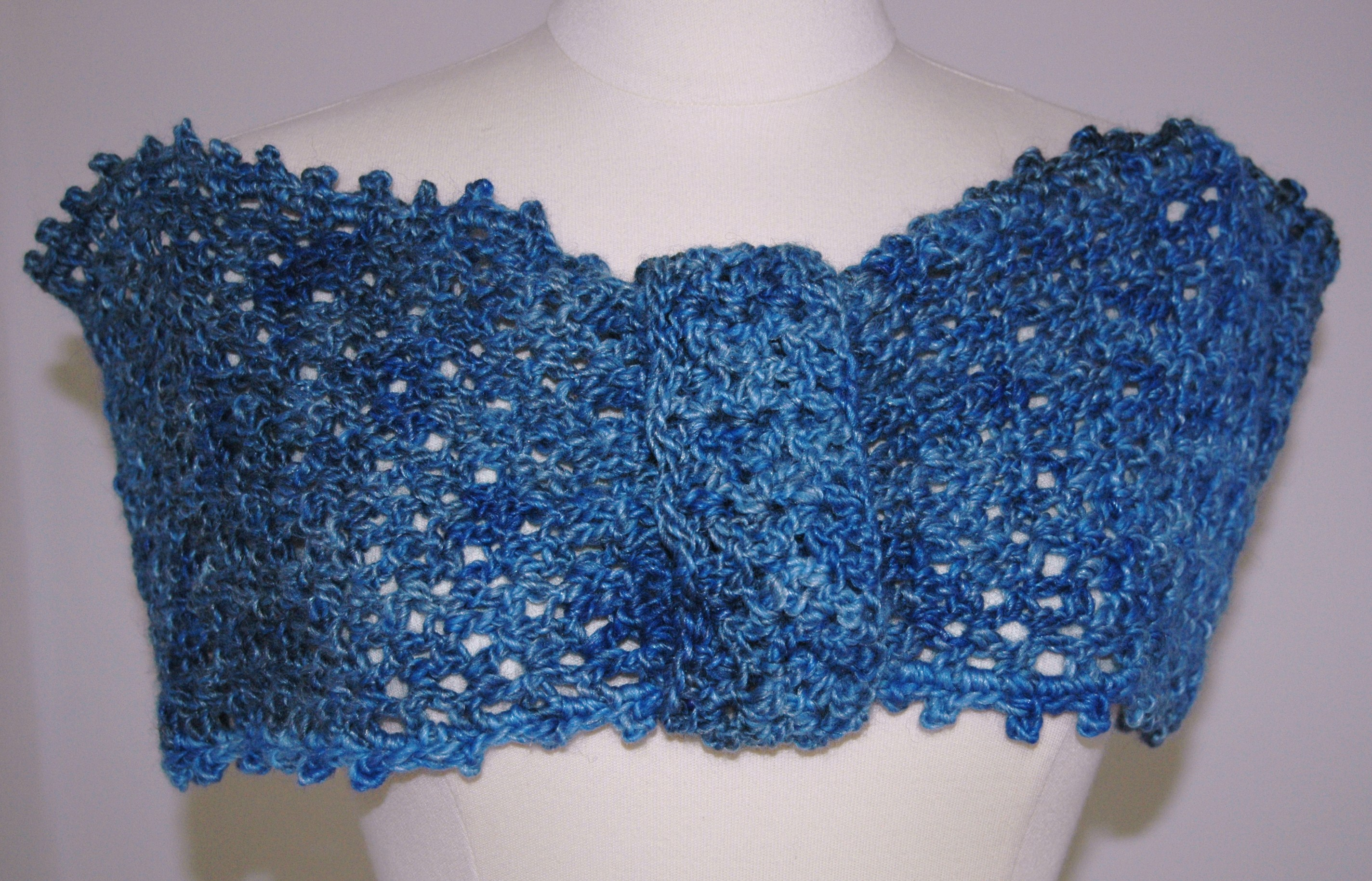 CROCHETED WRAP PATTERN How To Crochet