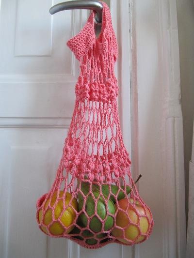 Crochet Net Bag : crochet net bag p