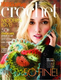 Vogue Crochet Cover 2012