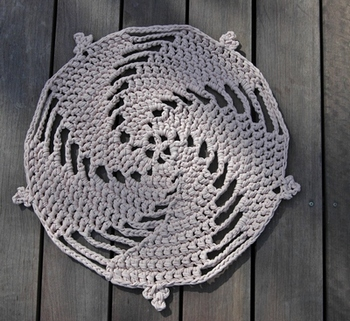 free crochet pattern for rug